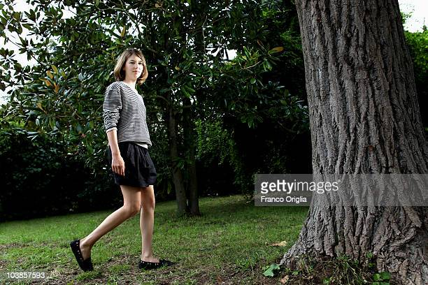 Filmmaker Sofia Coppola poses at the Somewhere portrait session during the 67th Venice Film Festival at Fascari 3 on September 5 2010 in Venice Italy