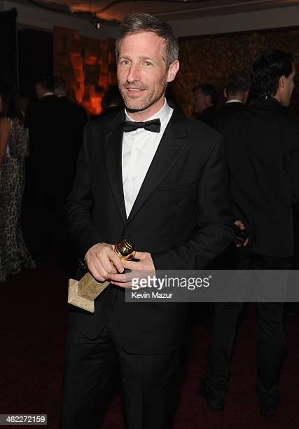 Filmmaker Spike Jonze attends the 2014 InStyle And Warner Bros 71st Annual Golden Globe Awards PostParty held at The Beverly Hilton Hotel on January...