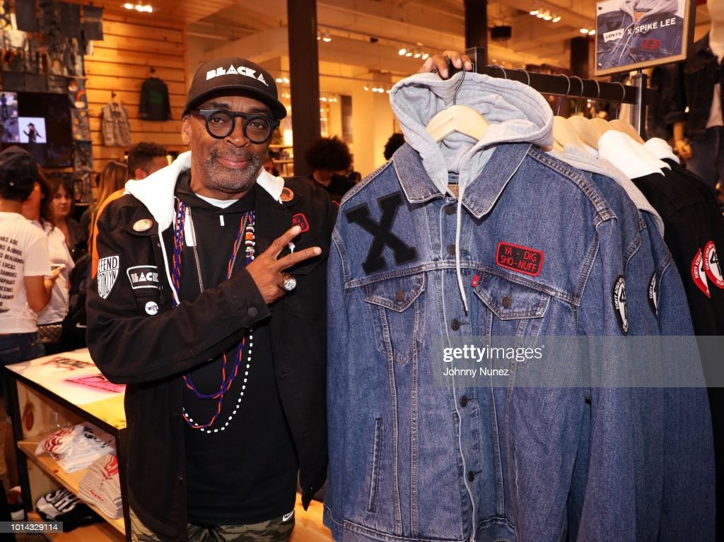 Filmmaker Spike Lee attends the launch of the Spike Lee Collaboration With Levi's at Levi's Soho on August 9, 2018 in New York City.