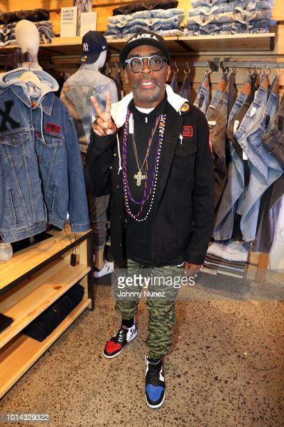 Filmmaker Spike Lee attends the launch of the Spike Lee Collaboration With Levi's at Levi's Soho on August 9 2018 in New York City