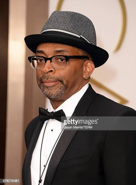 Filmmaker Spike Lee attends the Oscars held at Hollywood Highland Center on March 2 2014 in Hollywood California