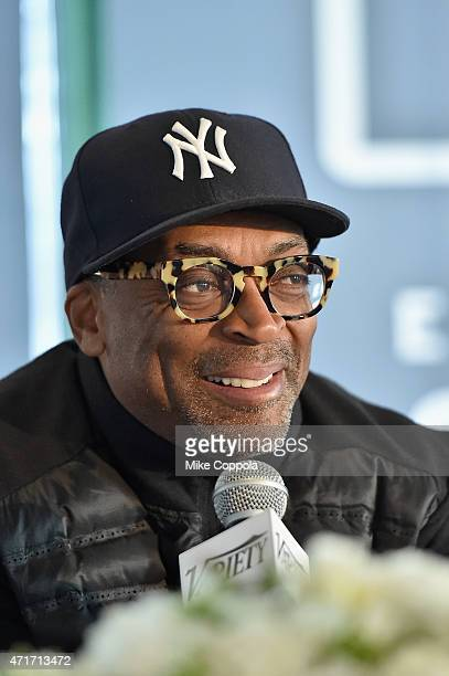 Filmmaker Spike Lee speaks onstage at Variety's Entertainment and Technology Summit NYC at Le Parker Meridien on April 30 2015 in New York City