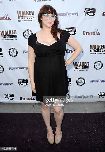 Filmmaker Stephanie Pressman arrives for the 2014 Etheria Film Night held at American Cinematheque's Egyptian Theatre on July 12 2014 in Hollywood...