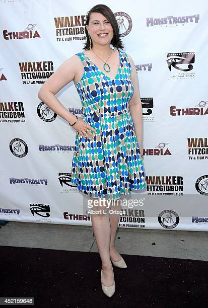 Filmmaker Stephanie Thorpe arrives for the 2014 Etheria Film Night held at American Cinematheque's Egyptian Theatre on July 12 2014 in Hollywood...