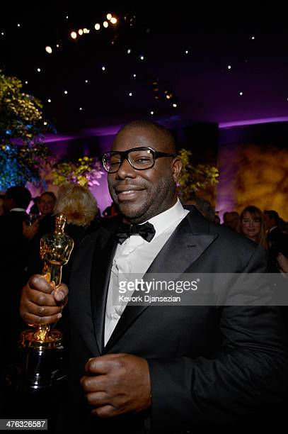 Filmmaker Steve McQueen winner of Best Motion Picture for '12 Years A Slave' attends the Oscars Governors Ball at Hollywood Highland Center on March...