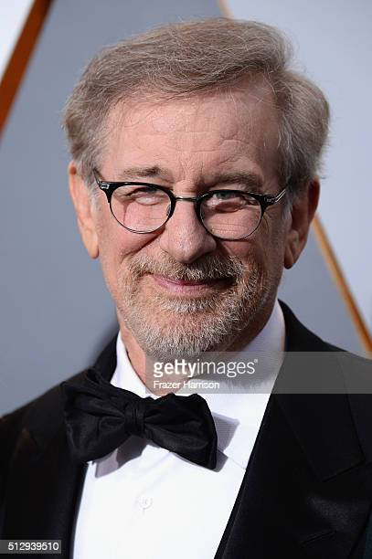 Filmmaker Steven Spielberg attends the 88th Annual Academy Awards at Hollywood Highland Center on February 28 2016 in Hollywood California