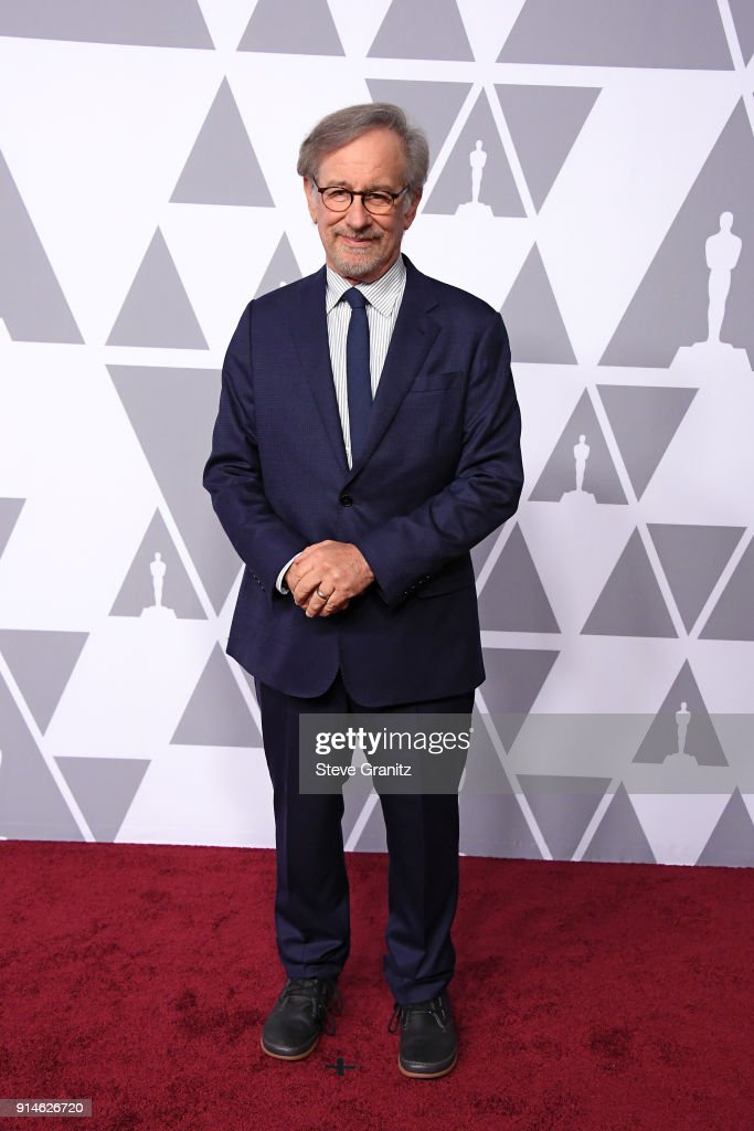 Filmmaker Steven Spielberg attends the 90th Annual Academy Awards Nominee Luncheon at The Beverly Hilton Hotel on February 5, 2018 in Beverly Hills, California.