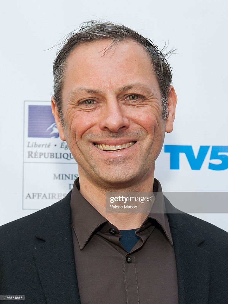 Filmmaker Stphane Aubier attends The Consul General Of France, Mr. Axel Cruau, Honors The French Nominees For The 86th Annual Academy Awards party on March 3, 2014 in Beverly Hills, California.
