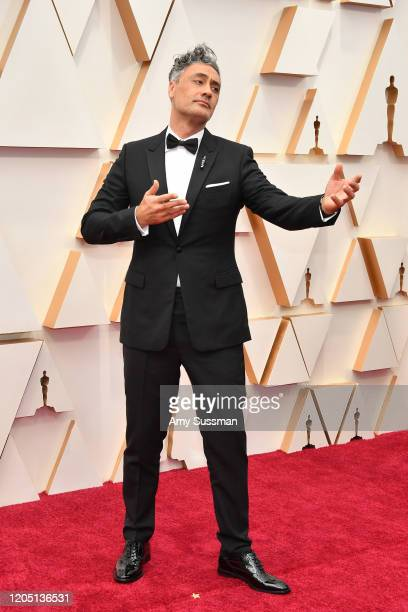 Filmmaker Taika Waititi attends the 92nd Annual Academy Awards at Hollywood and Highland on February 09 2020 in Hollywood California
