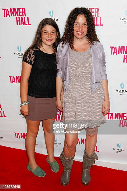 Filmmaker Tatiana von Furstenberg and her daughter Antonia Steinberg attend the premiere of Tanner Hall at the Vista Theatre on September 6 2011 in...
