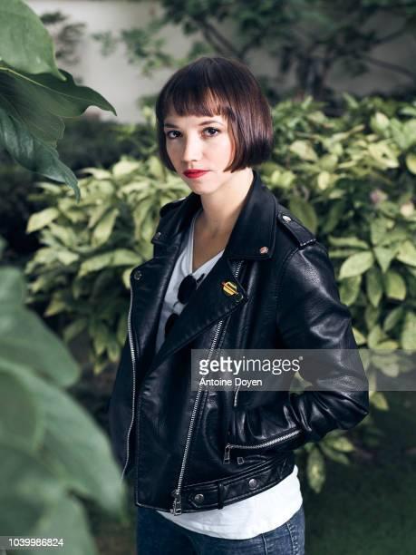 Filmmaker Tereza Nvotová is photographed for Self Assignment on September 2018 in Paris France