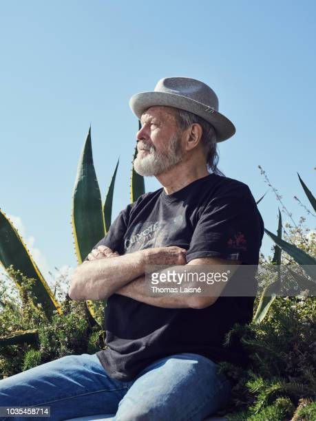 Filmmaker Terry Gilliam is photographed for Self Assignment on May 2018 in Cannes France