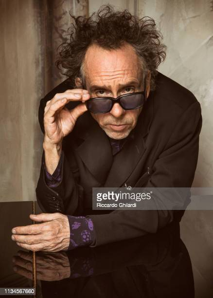 Filmmaker Tim Burton poses for a portrait on March 26 2019 in Rome Italy