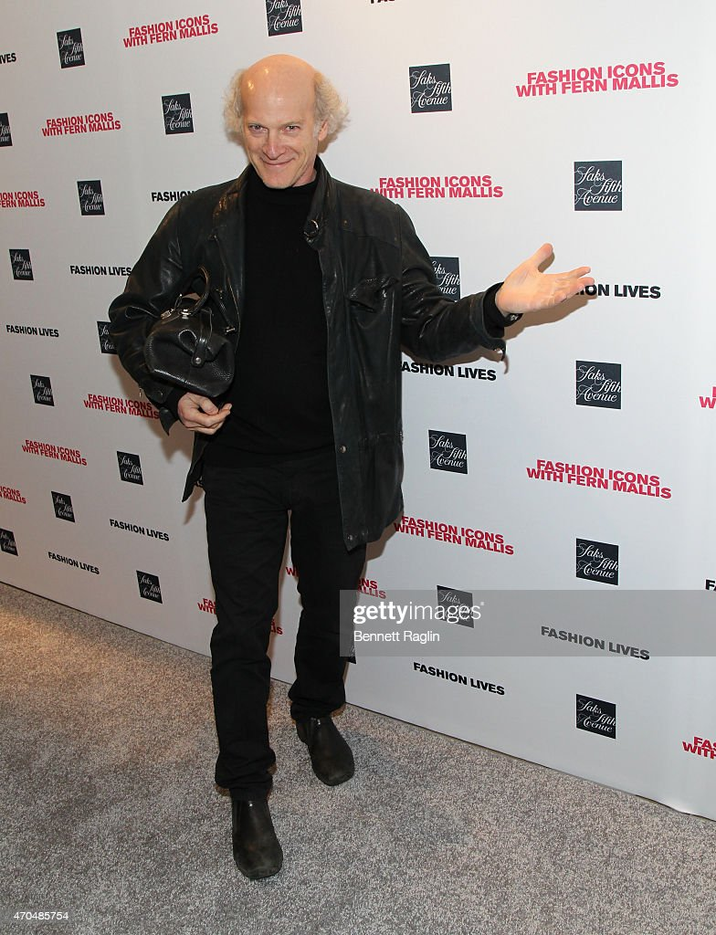 Filmmaker Timothy Greenfield-Sanders attends the Fashion Lives Book Launch at Saks Fifth Avenue on April 20, 2015 in New York City.
