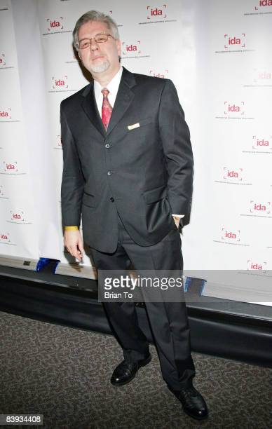 Filmmaker Tom Dziedzic who made Redemption Stone arrives at the 24th Annual International Documentary Association Awards Ceremony at the Director's...