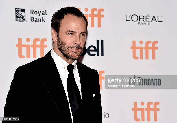 Filmmaker Tom Ford attends the Nocturnal Animals premiere during the 2016 Toronto International Film Festival at Princess of Wales Theatre on...