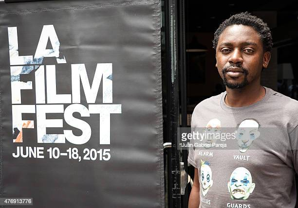 Filmmaker Tswarelo Mothobe attends the AFS Luncheon during the 2015 Los Angeles Film Festival at Casa Nostra on June 11, 2015 in Los Angeles,...