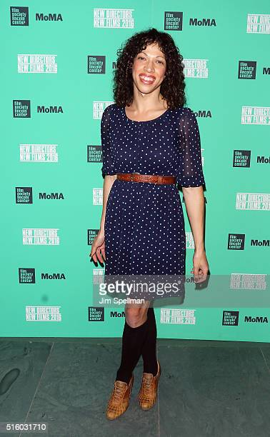 Filmmaker TW Pittman attends the 2016 New Directors / New Films opening night screening of Under The Shadow at The Museum of Modern Art on March 16...