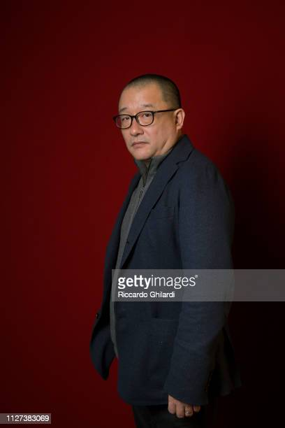 Filmmaker Wang Xiaoshuai poses for a portrait during the 69th Berlinale International Film Festival on February 15 2019 in Berlin Germany