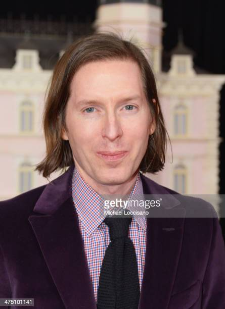Filmmaker Wes Anderson attends the 'The Grand Budapest Hotel' New York Premiere at Alice Tully Hall on February 26 2014 in New York City