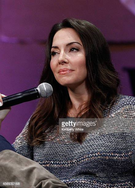 """Filmmaker Whitney Cummings speaks onstage during """"How to Earn Thousands Making Comedy"""" at the Vanity Fair New Establishment Summit at Yerba Buena..."""