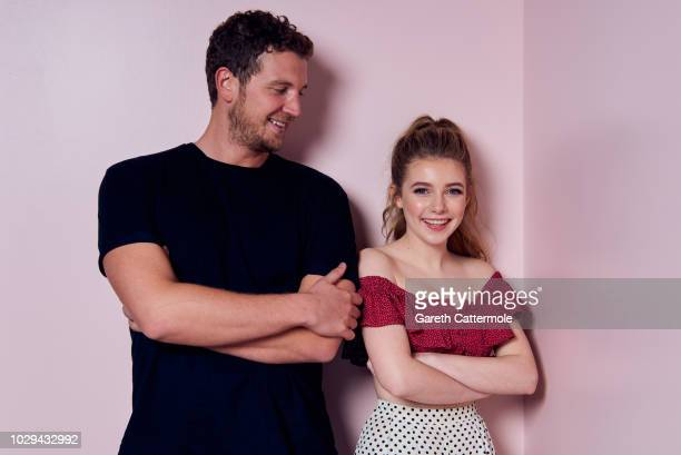 Filmmaker William McGregor and actor Eleanor Worthington Cox from the film 'Gwen' pose for a portrait during the 2018 Toronto International Film...