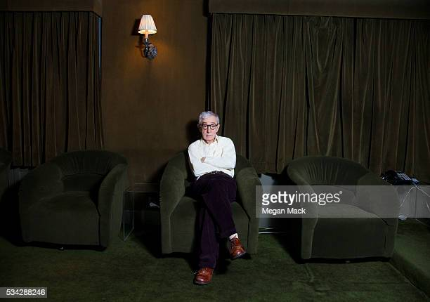 Filmmaker Woody Allen is photographed for The Wrap on April 22 2016 in New York City
