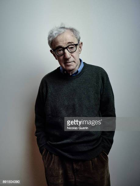 Filmmaker Woody Allen is photographed on November 23 2017 in Paris France