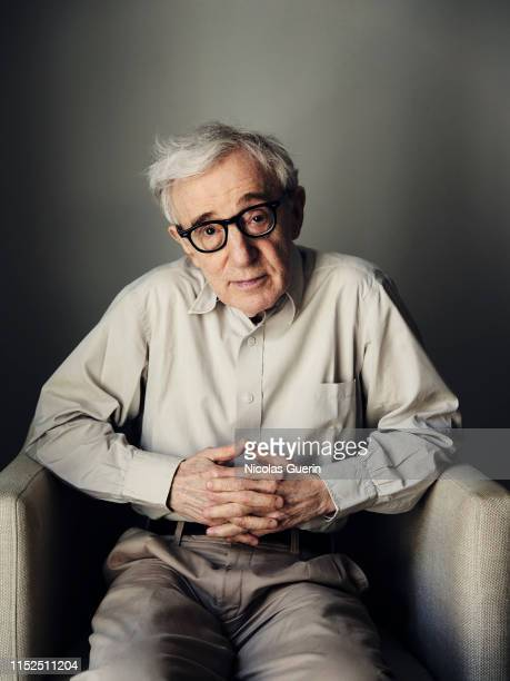 Filmmaker Woody Allen poses for a portrait on June, 2019 in Paris, France.