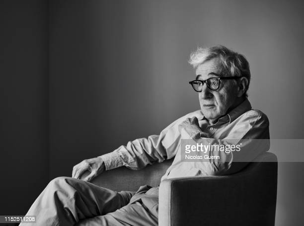 Filmmaker Woody Allen poses for a portrait on June, 2019 in Paris, France.