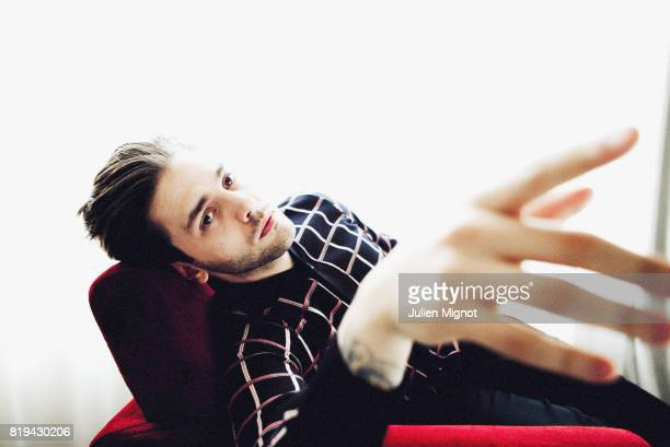 Filmmaker Xavier Dolan is photographed for Grazia Magazine on May 20 2016 in Cannes France