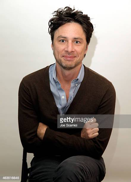 Filmmaker Zach Braff attends the The Variety Studio Sundance Edition Presented By Dawn Levy on January 18 2014 in Park City Utah
