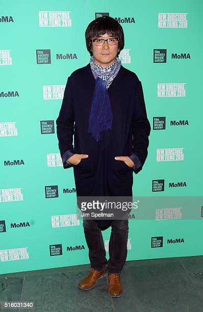 Filmmaker Zhao Liang attends the 2016 New Directors / New Films opening night screening of 'Under The Shadow' at The Museum of Modern Art on March 16...