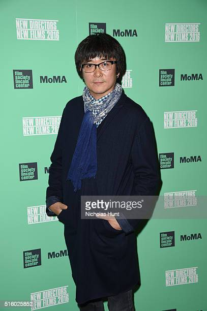 Filmmaker Zhao Liang attends 'Under The Shadow' 2016 New Directors / New Films Opening Night Screening at The Museum of Modern Art on March 16 2016...