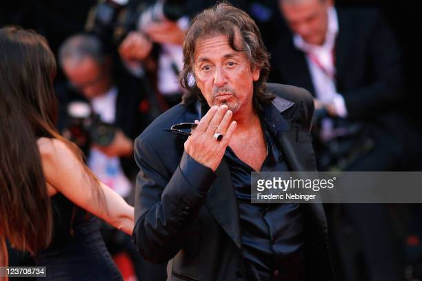 """Filmmaker/actor Al Pacino attends the """"Wild Salome"""" premiere during the 68th Venice Film Festival at Palazzo del Cinema on September 4, 2011 in..."""