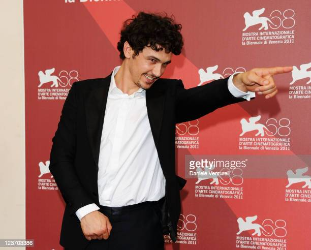 """Filmmaker/actor James Franco attends the """"Sal"""" Photocall during the 68th Venice International Film Festival at Palazzo del Casino on September 4,..."""