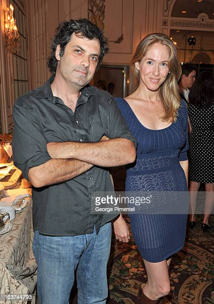 Filmmaker/actor Kenny Hotz and actress Debra Lynne McCabe attend the 25th Annual Gemini Awards Press Conference at Sutton Place Hotel on August 31,...