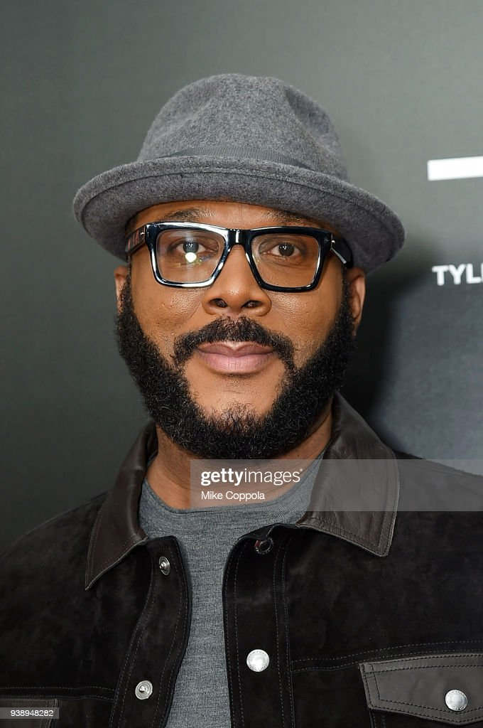 Filmmaker/actor Tyler Perry attends the 'Acrimony' New York Premiere Taraji P. Henson on March 27, 2018 in New York City.