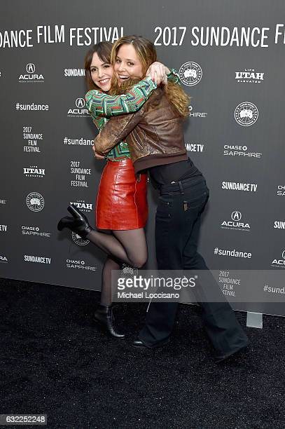 Filmmaker/actress Michelle Morgan and actress Margarita Levieva attend the LA Times premiere during day 2 of the 2017 Sundance Film Festival at...