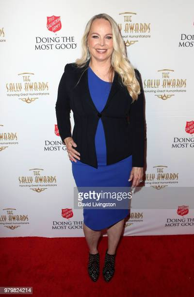 Filmmaker/Executive Producer Cindy Bond attends the 2018 Sally Awards at The Beverly Wilshire Four Seasons Hotel on June 20 2018 in Beverly Hills...