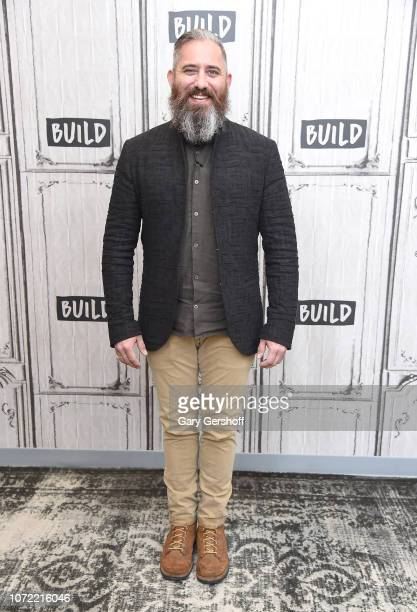 FilmmakerJeremy Corbell visits Build Brunch to discuss the film 'Bob Lazar Area 51 Flying Saucers' at Build Studio on December 12 2018 in New York...