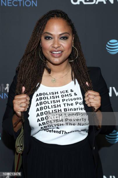 Filmmaker/producer Ava DuVernay attends the premiere of The Hate U Give on Day 4 of the 2018 Urbanworld Film Festival at the AMC 42nd Street Theater...
