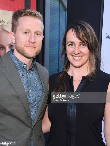 Filmmakers Aaron Kopp and Amanda Kopp attend the opening night premiere of Focus Features' The Book of Henry during the 2017 Los Angeles Film...