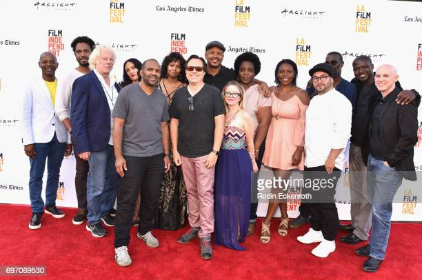 Filmmakers attend Shorts Program 1 during the 2017 Los Angeles Film Festival at Arclight Cinemas Culver City on June 17 2017 in Culver City California