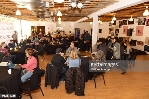 Filmmakers attend the 2018 Mammoth Lakes Film Festival on May 26 2018 in Mammoth Lakes California