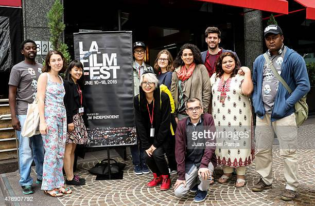 Filmmakers attend the AFS Luncheon during the 2015 Los Angeles Film Festival at Casa Nostra on June 11, 2015 in Los Angeles, California.