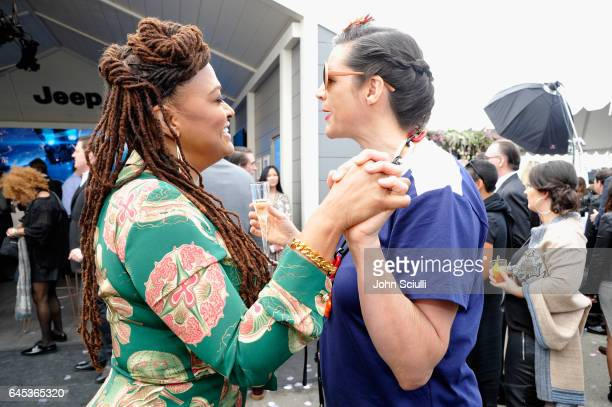 Filmmakers Ava DuVernay and Kirsten Johnson attend the 2017 Film Independent Spirit Awards sponsored by Jeep at Santa Monica Pier on February 25 2017...