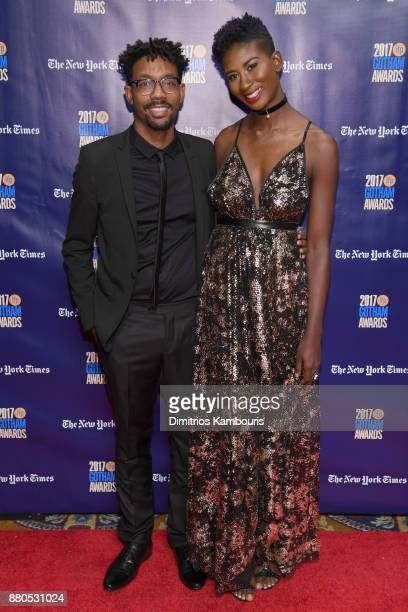 Filmmakers Damon Davis and Sabaah Folayan attend IFP's 27th Annual Gotham Independent Film Awards on November 27 2017 in New York City