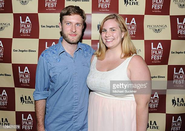 """Filmmakers Daniel Moore and Erin Zacek attend """"Shorts Program 3"""" during the 2011 Los Angeles Film Festival held at Regal Cinemas L.A. LIVE on June..."""