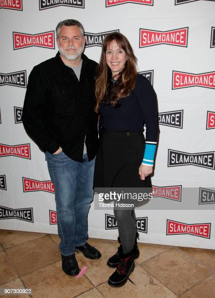 Filmmakers Don Hardy and Dana Nachman attend the Slamdance Film Festival official opening night premiere of 'Pick Of The Litter' at Treasure Mountain...